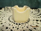 Fiesta Ware IVORY or Cream Sugar Pack Caddy Holder Business Card  NWT