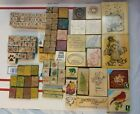 Huge Lot Of Rubber Stamps 115 All Shapes And Sizes