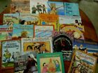lot 20 THANKSGIVING themed children picture book Pilgrims Native American Turkey