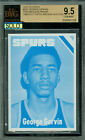 1975-76 TOPPS # 233 GEORGE GERVIN PROGRESSIVE PROOF SET OF 3 BGS 9 SOLO FINEST