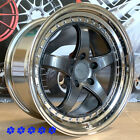 XXR 565 Wheels Graphite 18 x85 95 +38 Staggered 5x1143 93 97 98 Toyota Supra
