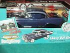 ERTL AMERICAN GRAFFITI 1957 CHEVY BEL AIR DIECAST MODEL KIT 1 18 RARE