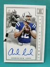 2018 IMPECCABLE ANDREW LUCK 19 25 AUTO INDELIBLE INK AUTOGRAPH Indianapolis M1