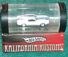100  HOTWHEELS CALIFORNIA CUSTOM 1967 SHELBY MUSTANG 1 64 w DISPLAY CASE