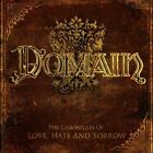 DOMAIN - THE CHRONICLES OF LOVE, HATE AND SORROW Digipack