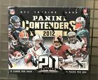 2012 Panini Contenders Football Factory Sealed Unopened Hobby Box