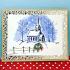 Wreath RETIRED U get photo 2 LKexample ART IMPRESSIONS RUBBER STAMPS