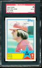 1983 Topps Pete Rose All-Star #397 autograph - Phillies - SGC Authentic