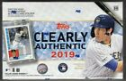 2019 TOPPS CLEARLY AUTHENTIC BASEBALL SEALED HOBBY BOX