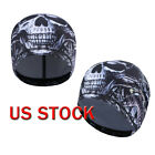 Scary Ghost Skull Cap Fleece Motorcycle Biker Ski Beanie Hat for Cold Weather US