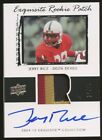 2009-10 UD Exquisite Retro Jerry Rice Game Used 3-Color Patch AUTO 11 25