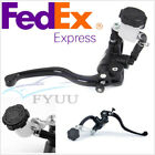 Right Motorcycle CNC Aluminum Brake Clutch Pump Lever Radial Master Cylinder X1