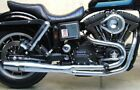Chrome Thunderheader 2 into 1 Full Exhaust Pipe Header System 12 17 Harley Dyna