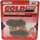 Front Disc Brake Pads for Kymco Pulsar 125 2001 124cc  By GOLDfren