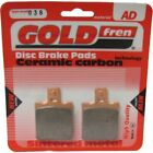 Front/Rear Disc Brake Pads for Cagiva Super City 80 1993 80cc  By GOLDfren