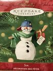 HALLMARK 2001 SON Hockey Player Christmas Ornament NEW in BOX