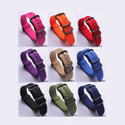 Durable Military Nylon Watchband Breathable Watch Strap 20 22 24 MM Wristband