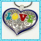 Brighton Summer Love Heart Colorful Pendant Necklace NWT 52
