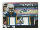 2013 PANINI LIMITED KEENAN ALLEN AUTO PATCH ROOKIE CARD RC # 49 LA CHARGERS SP