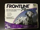 FRONTLINE PLUS FLEA AND TICK CONTROL FOR DOGS 45 88 LB 6 MONTH SUPPLY USA