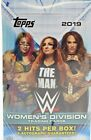 2019 TOPPS WWE WOMENS DIViSION HOBBY BOX & 2 HOT PACKS ONE IS AN AUTO HOT PACK