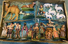 20 Old 1950s Vintage Italy Nativity Christmas Village Figurines 5 Hand painted