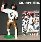 1999 BRETT FAVRE [SOUTHERN MISS.] Starting Lineup Figure Open, Loose with CARD!