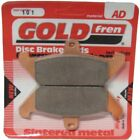 Front Disc Brake Pads for Moto Morini 501 New York 1989 507cc  By GOLDfren