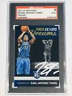 Karl-Anthony Towns Signed 2015-16 NBA Hoops Dreams Auto RC Autographed SGC AUTH