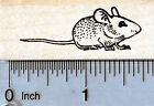 Mouse Rubber Stamp D35213 WM