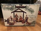 New KIRKLAND SIGNATURE 13 Piece Nativity Set