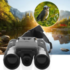 Digital Camera Binoculars Day Night Vision 12x32 HD USB Hunting Camp Telescope
