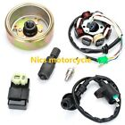 Motorcycle GY6 scooter moped ATV 50 150cc flywheel stator ignition coil CDI