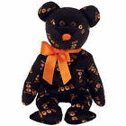 TY Beanie Baby - YIKES the Halloween Bear (Hallmark Gold Crown Excl.) (8.5 inch)