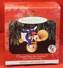 Disney Christmas Ornament - Donald Plays the Cymbals