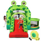 Slide Inflatable Bounce House Castle Kids Jumper Bouncer Outdoor with Air Blower