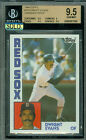 1984 TOPPS # 720 DWIGHT EVANS UNISSUED PROOF BGS 9.5 SOLO FINEST GRADED .