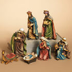 Nativity Set 7 Piece Scene Figures Holy Family Christmas Tabletop Holiday Decor