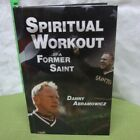 DANNY ABRAMOWICZ Spiritual Workout hand signed book New Orleans Saints autograph