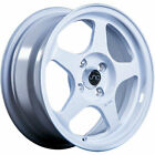 4 15x65 White Wheel JNC JNC018 4x100 35