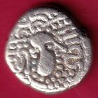 ANCIENT INDIA GADHAYA DYNASTY KINGS PORTRAIT RARE SILVER COIN D43