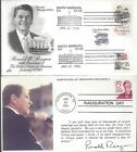 PAIR OF REAGAN INAUGURATION COVERS 1981 & 1985