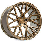 4ea 19x95 Rohana Wheels RFX10 Brushed Bronze Rims S3