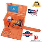 Husqvarna Stackable Orange Chainsaw Storage Carrying Case MADE IN USA!!