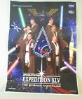 NASA International Space Station Expedition XLV POSTER Star Wars Themed 12X16