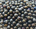 600 Pcs 10mm Czech Fire Polished Faceted Round Glass Beads  IRIS BROWN