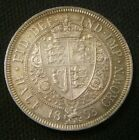 1893 GREAT BRITAIN QUEEN VICTORIA VEIL HALF CROWN SILVER CHOICE MS BEAUTY
