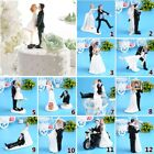 Wedding Cake Toppers Bride Groom Anniversary Birthday Party Decor Supplies Gift