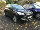 LARGER PHOTOS: 2015 FORD KUGA ZETEC 2.0 TDCI 4X4 BLACK NON RUNNER SPARES OR REPAIR