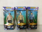 3 1996 Star Trek Collector Edition Figures with Kirk, Sulu, and Scotty